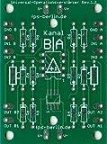 3x Platine Universal-Operationsverstärker