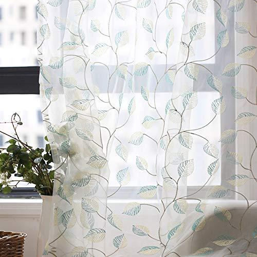 Home curtain tende trasparenti bianco moderna finestra semi sheer tenda per porte tende per trattamenti protettivi privacy tenda per ricamo,rings,1pcs(300 * 270cm)
