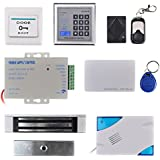 Kit RFID Electro Magnetic Door Lock Door Access Remote Control System Full Set