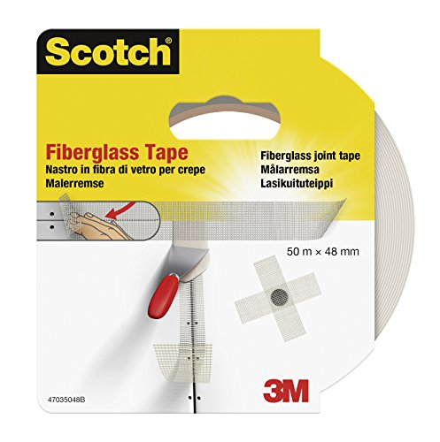 Scotch Fiberglass - Cinta adhesiva, 48 mm x 50 m