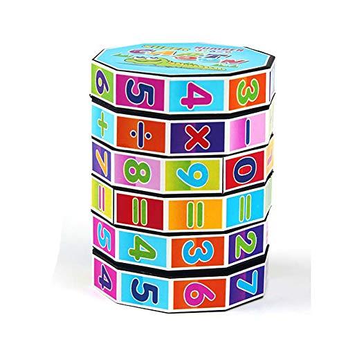 igital-Würfel-Spielzeug Kindergarten Vorschüler Arithmetik Math-Spiele für Kids Interactive Educational Development Spielzeug für Kinder Kinder Geburtstags-Geschenk-Geschenk-Partei ()