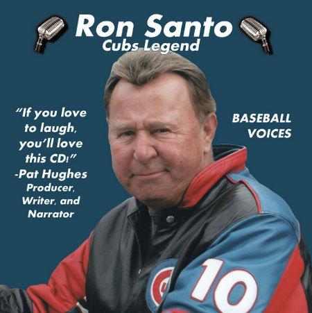 Ron Santos - MLB Chicago Cubs Ron Santo ''Cubs Legend'' Baseball Voices Tribute CD (1 CD) -