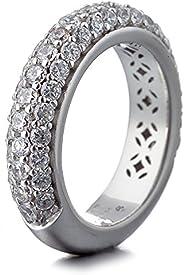 ESPRIT Women Silver Piercing Ring - ELRG91400A180