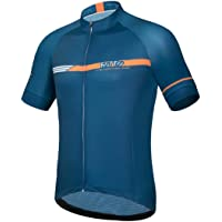ROTTO Cycling Jersey Men Bike Shirts Short Sleeve Cycling Top Simple Line Series