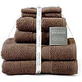 Jeff Banks algodón egipcio 6 piezas Toalla toallas de lujo contemporáneo 500 GSM