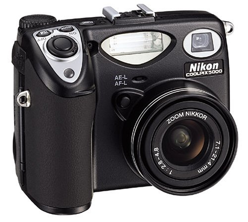 Nikon Digitale Camcorder (Nikon Coolpix 5000 Digitalkamera (5,0 Megapixel))