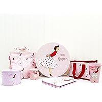 Mrs Smith design–Hello Gorgeous. Gift Collection–contiene 6articoli da regalo–idee regalo per San Valentino