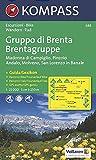 Carta escursionistica n. 688. Trentino, Veneto. Gruppo di Brenta, Madonna di Campiglio, Andalo, Molveno 1:25.000. Adatto a GPS. Digital map. DVD-ROM