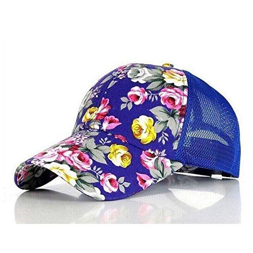 DIDADU 2017 Neue Blumendruck Baseballmützen Blumen Hip Hop Caps Snapback Großhandel Mode Frauen Freizeit Flache Knochen Atmungsaktives Mesh Caps