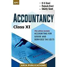 Accountancy Class XI (2018-19 Session)