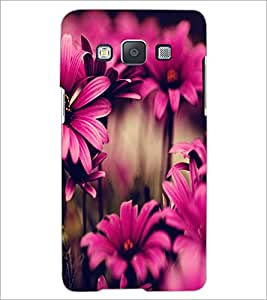 PrintDhaba Flower D-2035 Back Case Cover for SAMSUNG GALAXY E5 (Multi-Coloured)