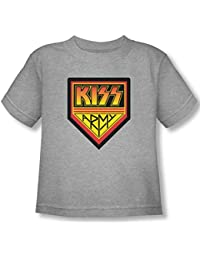 Kiss - - T-shirt Armée Toddler Logo