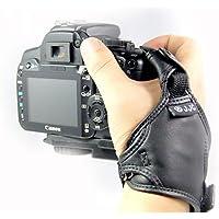 Cinghia da polso in pelle JJC HS-N in 3 punti per le fotocamere reflex digitali - Borsa Di Tenuta Nastro