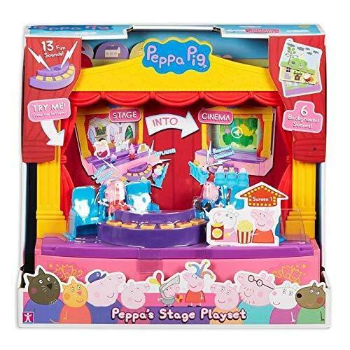 Peppa Pig 6964 PEPPA'S STAGE PLAYSET, Multi-Colour