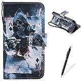 Die besten König Iphone Stylus - Feeltech iPhone 7 Hülle PU-Leder und Brieftasche Bunte Bewertungen