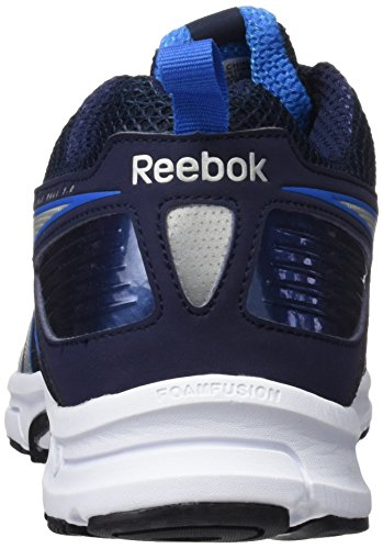 Reebok Triplehall 5.0, Scarpe da Corsa Uomo, Giallo, 36 EU Azul / Plateado / Blanco (Collegiate Navy / Bluesport / Silver / White)