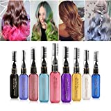 RVS DIY Hair Dye Washable Temporary Chalk Non-toxic color hair wax waterproof mascara