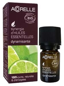 Acorelle Huile Essentielle Biologique Synergie Dynamisante 5 ml