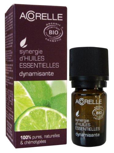 Acorelle, Sinergia di oli essenziali biologici tonificanti, 5 ml