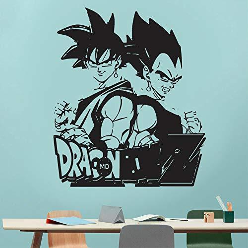 Ball Z Aufkleber Entfernbare Wandaufkleber Grafiken Kunst Haus Dekoration Vinyl Cartoon Aufkleber Für Kinderzimmer Tapete Z322 42x49 cm ()