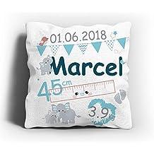 IMPRIMEURMARSEILLE.fr Coussin Tissu velouté Cadeau Naissance - Cadeau  Original à personnalisé pour bébé Fille 8e442ada6b7