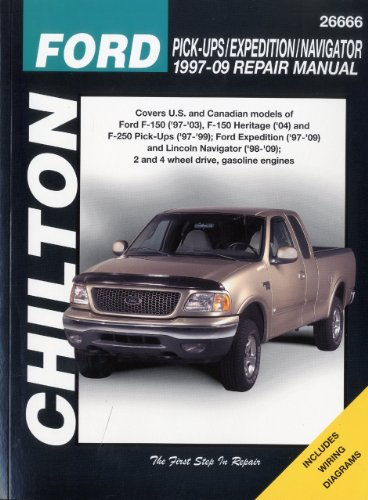chiltons-ford-pick-ups-expedition-navigator-1997-2009-repair-manual-covers-us-and-canadian-models-of