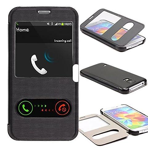 Telephone S5 Samsung - Galaxy S5 Étui , Urcover Double view