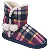 Trespass Zapatillas/Botas de Estar Por casa Modelo Yasmine Para Mujer (36/37 EU/Cuadros)