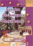 Savoirs et techniques de restaurant....