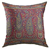Best Better Homes and Gardens Bath Pillows - Mugod Pillow Case Colorful Fresco Paisley Indian Green Review