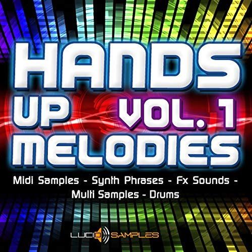 Hands Up Melodies Vol. 1 - Collection of Midi Samples & Synth Phrases | AIFF, SF2, MIDI | Download