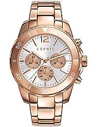 ESPRIT Women's Chronograph Quartz Watch with Stainless Steel Bracelet – ES108262006