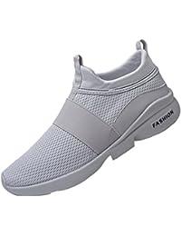 Mode Turnschuhe Herren,❤️Absolute Männer Atmungsaktive Mesh Schuhe  Beatifable Wild Slip-On Freizeitschuhe 2018 Sommer… 07339ee8ee