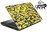 #5: Kaira High Quality printed laptop skins/ laptop decals/ Laptop stickers for Apple,HP, Lenovo, Sony, Vaio, Dell, Acer, Asus, Compaq, Toshiba any size of laptop 11.0 inch to 15 inch)(many minions)