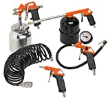 Black+Decker 9045853BND Accesorios para Compresor de Aire, BD KIT 5 PCS METAL