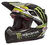 Bell Helme MX 2017moto-9Flex Erwachsene Helm, Pro Circuit Monster Replica, Größe L