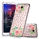 Xiaomi Redmi 5 Case, Slim Shockproof Excellence Girls Protective Case,High Impact Defender Bumper Case Compatible with Xiaomi Redmi 5 Leaf Flower