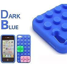 NightKid Bloques creativos diseño de suave silicona funda (iPhone 6S iPhone 6 iPhone 5C iPhone 5/5S )(iPhone 6/4.7,Multicolor)