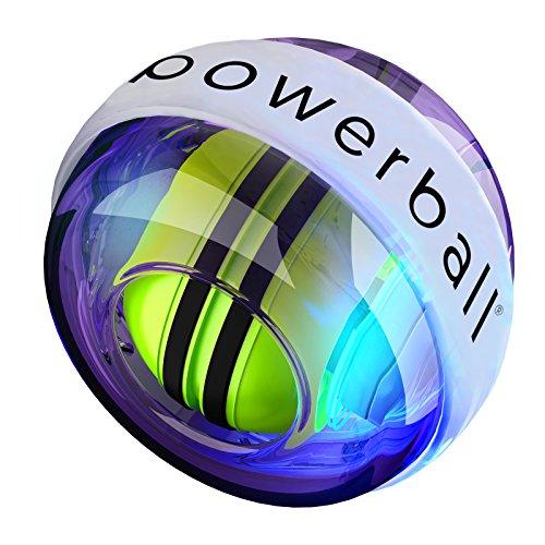 New NSD Powerball 280Hz Autostart Fusion Pro LED Colour Active Gyroscope Ball Arm Exerciser, Wrist & Hand Grip Strengthener – Rehabilitates Tendonitis Elbow, Wrist Pain & Finger Injury