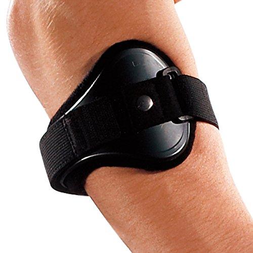 LP Support 551 Tennisarmspange - Tennisarmbandage - Sport-Bandage, Größe:L, Farbe:schwarz