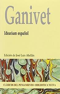 Idearium español - Edición Clásicos del Pensamiento par Ángel Ganivet
