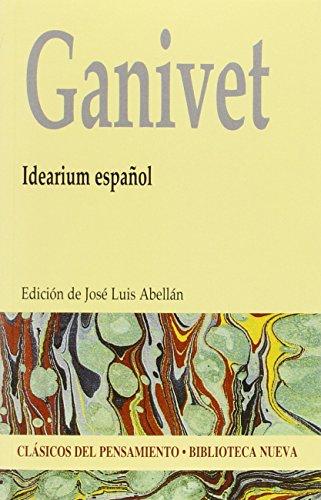 Portada del libro Idearium español - Edición Clásicos del Pensamiento (CLASICOS DEL PENSAMIENTO)