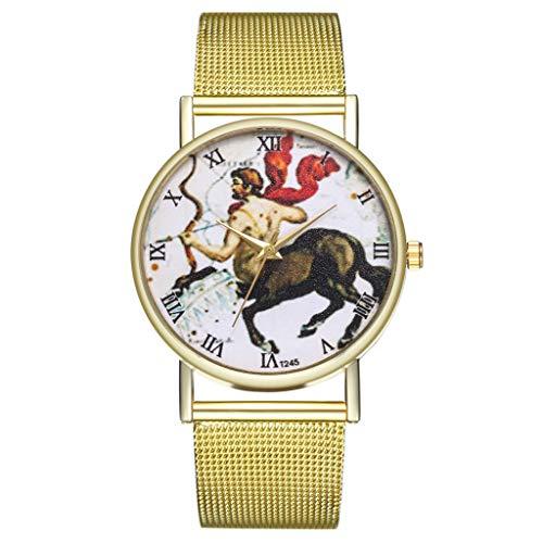 IG Invictus Vintage Ladies Round Mesh Strap Watch Quartz Fashion Watch Quarzmaschengürtel Modeuhr T236 W MIT Mode, Uhren, Quarz -
