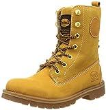 Dockers by Gerli Damen 35AA305-300 Combat Boots, Gelb (golden tan 910), 40 EU