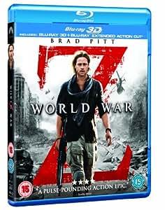 World War Z (Blu-ray 3D + Blu-ray) [Region Free]
