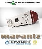 Amplificatore Marantz HD-AMP1 2x35 Watt 8 OhmRMS/ 70 Watt 4 Ohm RMS, amplificatore di alta classe di dimensioni compatte, clock con doppio oscillatore e DAC Discreto con moduli di filtro Marantz HDAM-S2 Negozio Intermarket Hi-Fi Roma progettazione, vendita, installazione, assistenza tecnica di alta fedeltà, video, audio, accessori, musica liquida, DJ, Home Automation, Mobili. Hifi online shop