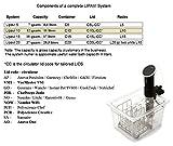 LIPAVI C10L-VM1 Deckel für den LIPAVI C10 Sous-Vide Wasserbad/ Container, hergestellt für den Steba SV100 / Buffalo 1500W Tauchzirkulator