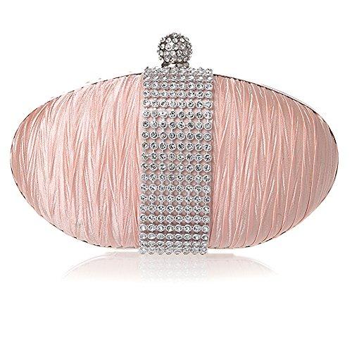 HT Evening Bag, Poschette giorno donna Pink