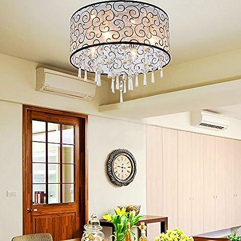 OOFAY LIGHT elegante lampadario di cristallo con 4 luci - Elegante Cristallo