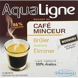 VITARMONYL Aqualigne Café Minceur 14 Sachets - Lot de 2